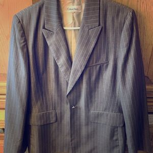 Calvin Klein Suit (blazer and pants). Size 14.